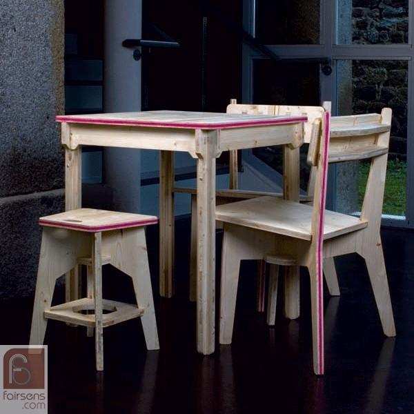 Banc design - Le bancEKOby Benoit Fournier-Mottet et Céline Michelland