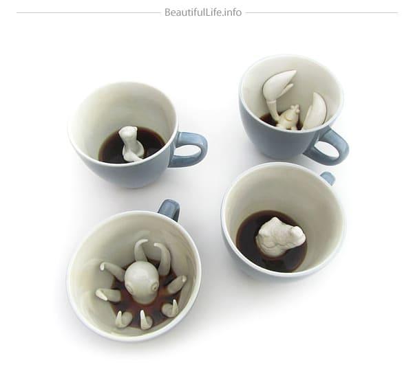 Tasses design - Les tasses Creative Créature