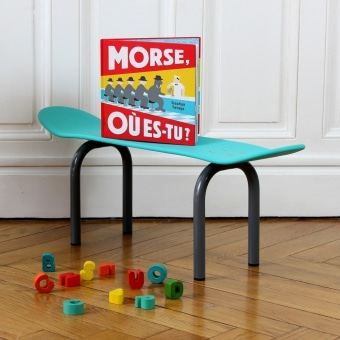Banc design - Le banc skate by Leçons de Choses
