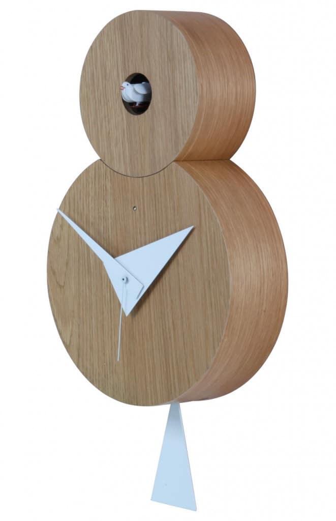 Horloges design : l'horloge à coucou Otto by Paolo Imperatori