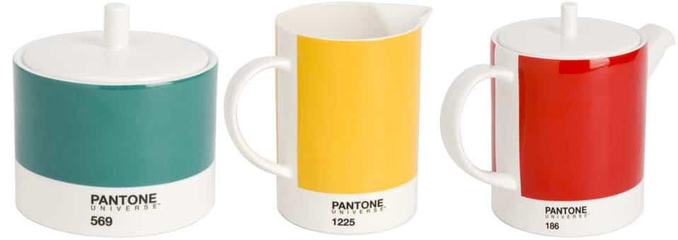 Mugs Pantone tasses à café Pantone
