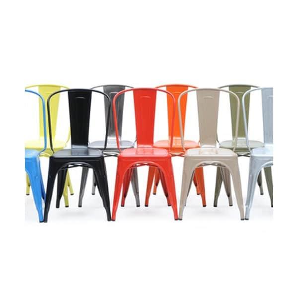 La chaise Modèle A Tolix de Xavier Pauchard 1