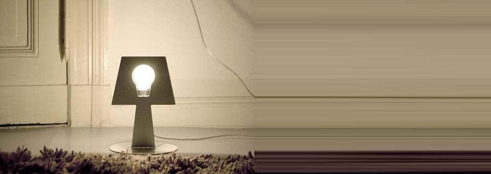lampe à poser Bendino Martin Konrad Gloeckle