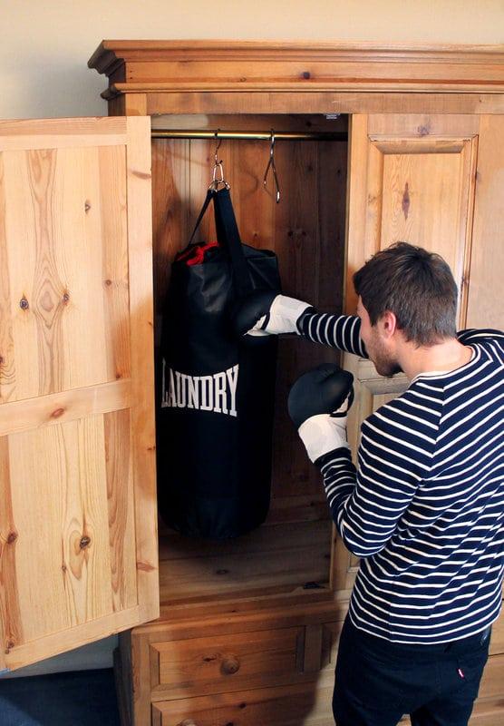 Punch Bag sac à linge salle à boxer