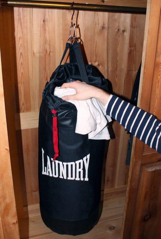 sac à linge salle à boxer
