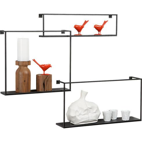 Étagères design - Les étagères flottantes en métal 2