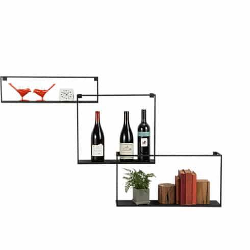 Étagères design - Les étagères flottantes en métal 1