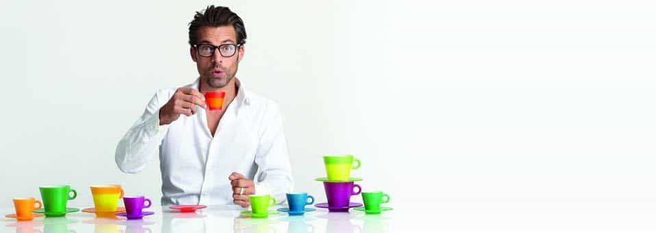 tasses à café Magico Leonardo