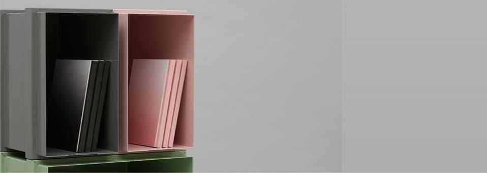 Color Box stockage Henriette W. Leth