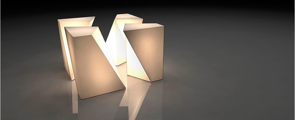 Teïva Bodereau cube lumineux Fragment