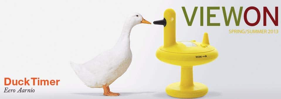 Duck Timer minuteur cuisine Eero Aarnio