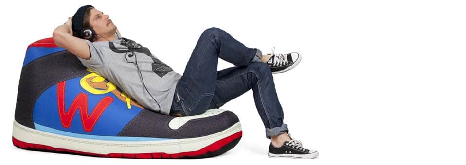 pouf Sneaker