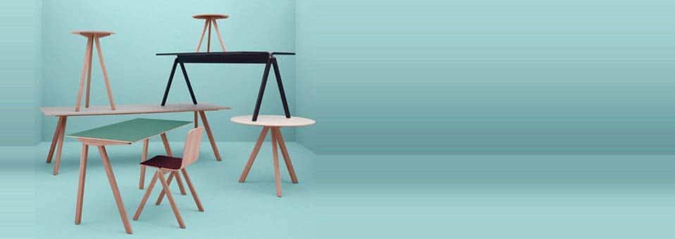 chaise haute Copenhague Ronan et Erwan Bouroullec