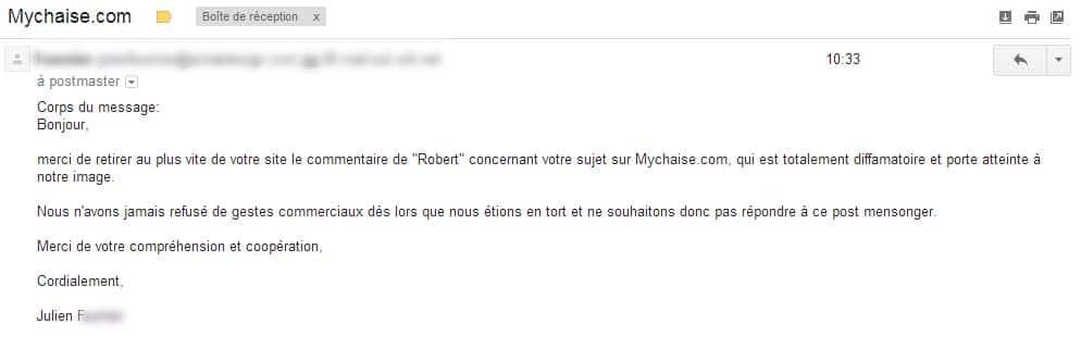 Mychaise.com