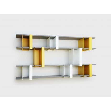 Étagères design - Les étagères Plio de Presse Citron 2