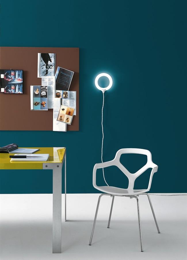 La chaise design Trace de Shin Azumi pour Desalto