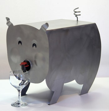 Cocobib fontaine à vin Gérard Coquelin