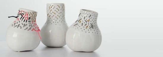 vase Butternut Embroidery