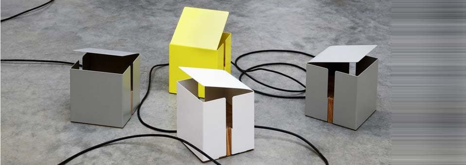 Box Light lampe table UP