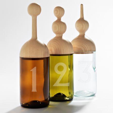 Slow Design - Les contenants en verre revisités