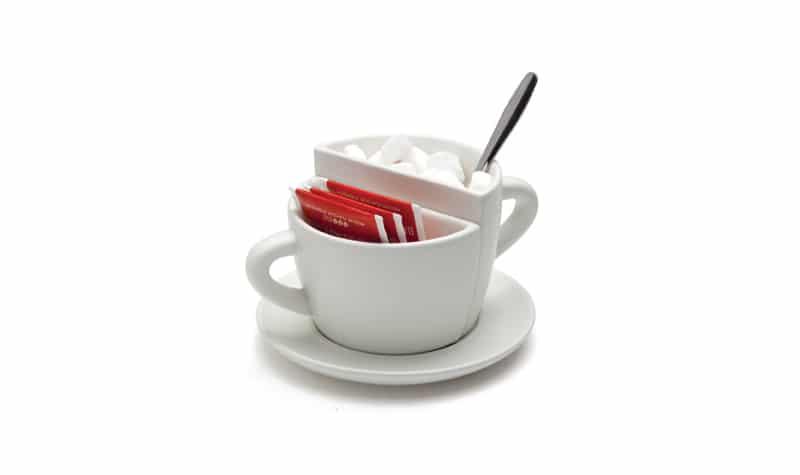 coffee breaks la fausse tasse caf by amidov. Black Bedroom Furniture Sets. Home Design Ideas