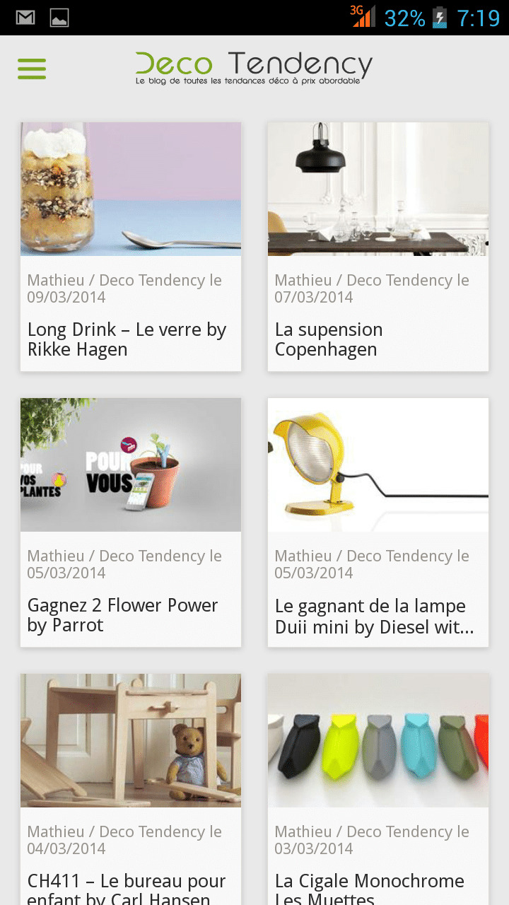 Application deco tendency d barque sur andro d for Miroir application android