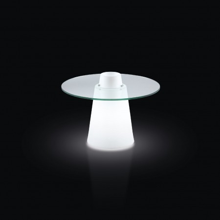 table basse lumineuse Peak Slide