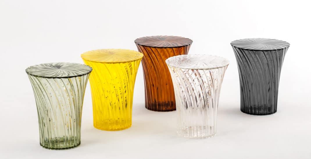 Tabouret design Sparkle de Tokujin Yoshioka