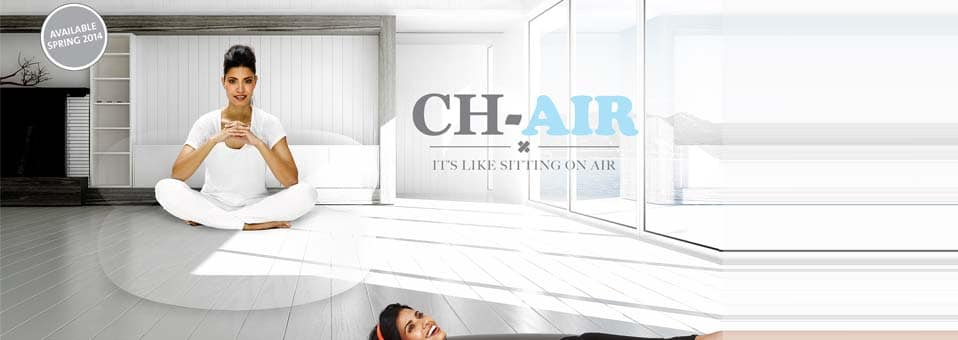 The CH-AIR – Le fauteuil gonflable by Alex Bergman