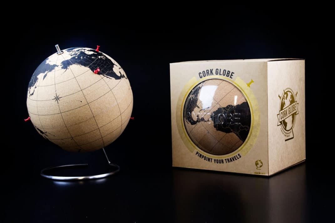 Cork Glob - Le globe en liège