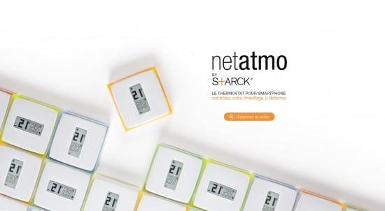 Thermostat connecté Netatmo by Starck à gagner