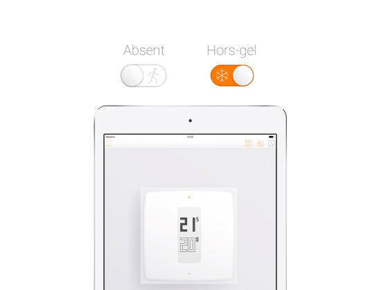 thermostat connecté Netatmo Starck