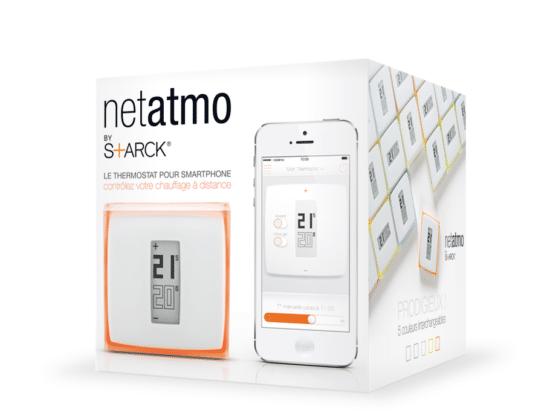thermostat connecté Netatmo Starck