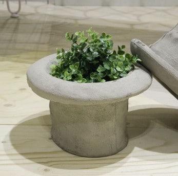 pot de fleur style haut de forme by seletti deco tendency. Black Bedroom Furniture Sets. Home Design Ideas
