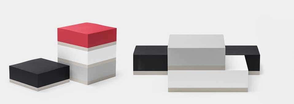 bloc de papier Ito Bindery - Bertjan Pot présenye la lampe de table Pion