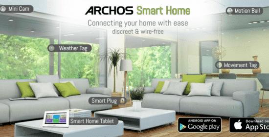 domotique ARCHOS Smart Home