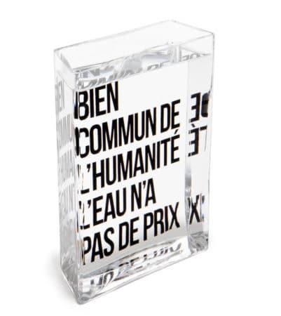 carafe La Lame d'Eau Philippe Starck