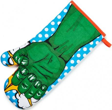 gants de cuisine Hulk