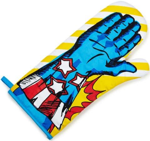 gants de cuisine Super Héro