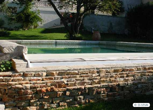 piscine à débordement