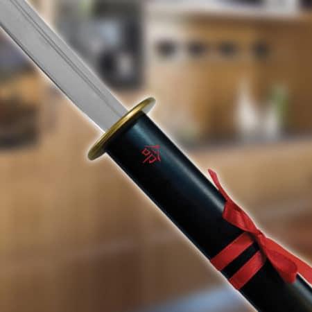 porte-Couteau et couteau façon Samourai