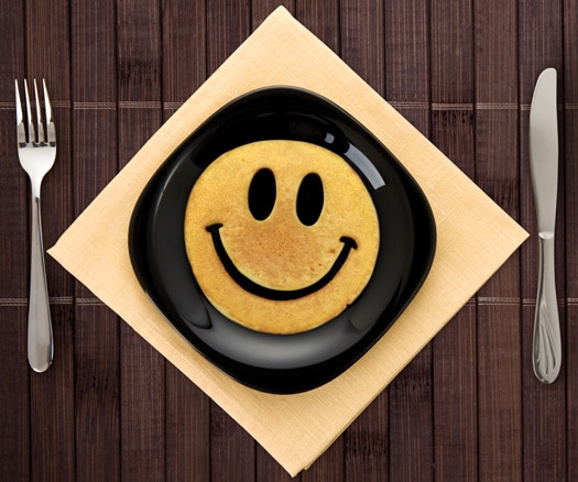 emporte-pièce pour oeufs ou pancakes Smiley