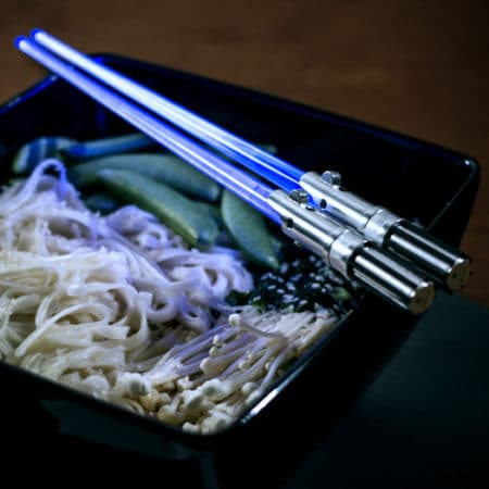 baguettes Chinoises Sabres Jedi Star Wars