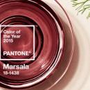 La couleur Pantone de l'année 2015 est Marsala