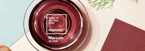 couleur de l ann e pantone 2015 est marsala. Black Bedroom Furniture Sets. Home Design Ideas