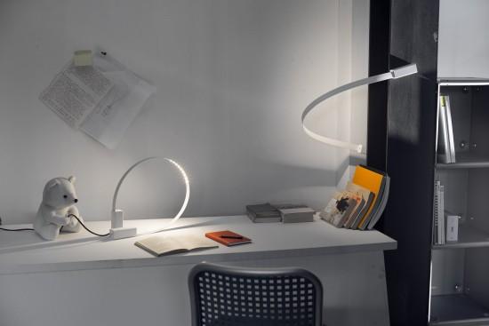 Martinelli Luce lampe de table Fluida