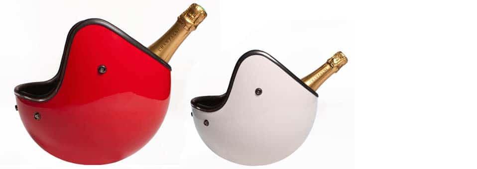 seau à champagne casque Icejet - Set apéritif Orbo - Idéal pour recevoir ses amis