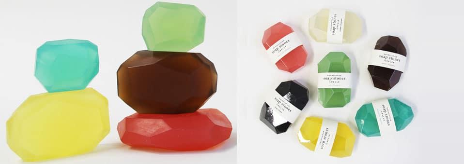 Soap Stones1 - Soap Stones - Des savons très décoratifs