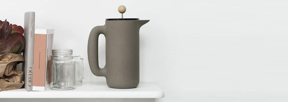 cafetière à piston Push Mette Duedahl Muuto