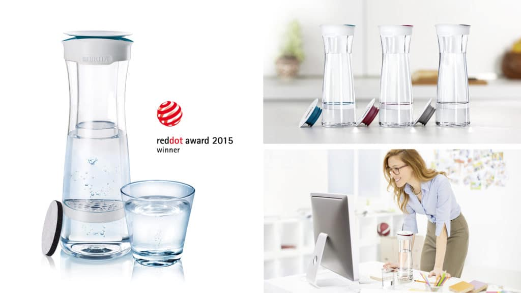 carafe filtrante design Fill & Serve by Brita